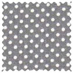 Pindots Gray Fabric
