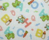 Cradle - Baby ABC - Fitted - 100% Cotton Percale - Cuddlies Cradle Sheets