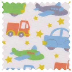 Cars Trucks Planes Fabric