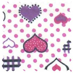 Love Hearts Fabric
