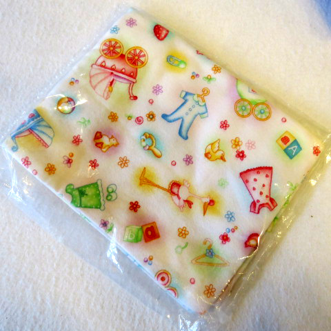 Baby Girl Clothesline Cotton Flannel Baby Pillow Case