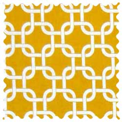 Mustard Yellow Links Fabric