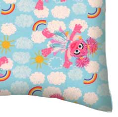 Percale Pillow Case - Sesame Street Abby