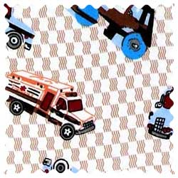 Vehicles Cream Fabric