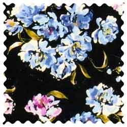 Blue Flowers Fabric