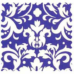 Purple Damask Fabric