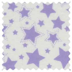 Lavender Stars Fabric