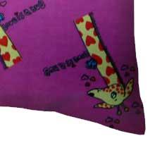 Giraffes Hot Pink
