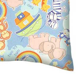 Percale Pillow Case - Noahs Ark