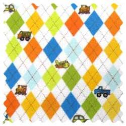 Argyle Transport Fabric