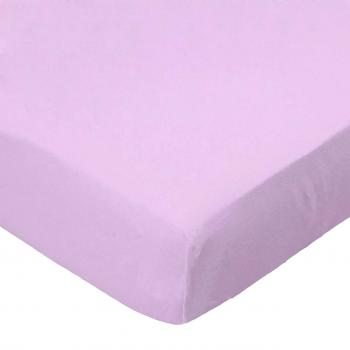Oval (Stokke Mini) - Flannel FS13 - Lilac - Fitted Oval - 100% Cotton Flannel - Solid Color Flannels Oval Sheets