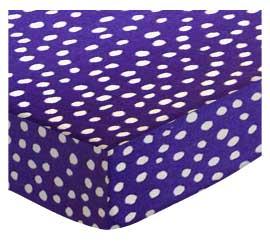 100% Cotton Woven - Fun Dots Pack N Play Sheets