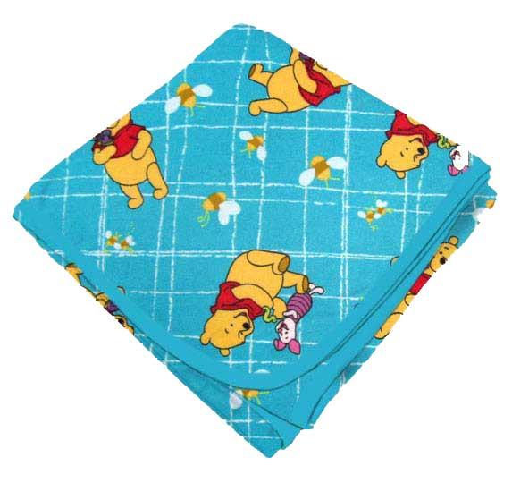 Pooh Blue Grid