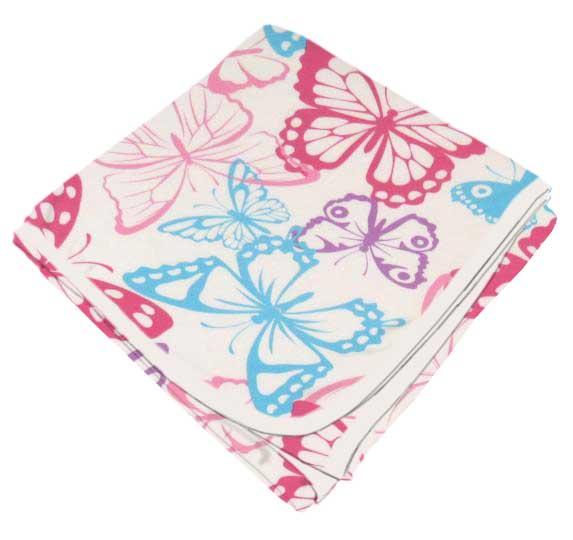 Butterflies Receiving Blanket