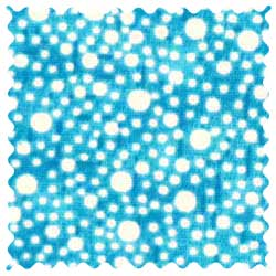 Confetti Dots Turquoise Fabric