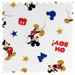 Oh Boy Mickey Mouse Fabric