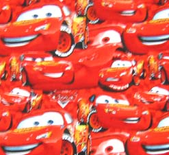 Basket - Lightning McQueen - Fitted - 100% Cotton Percale - Character Prints - Kid Characters Basket Sheets