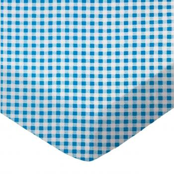 Turquoise Gingham Check