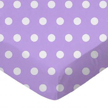 Polka Dots Lavender