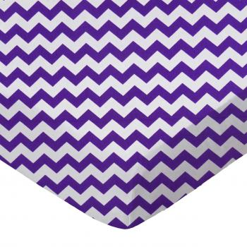 Purple Chevron Zigzag