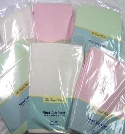 6 Pc. Crib Sheet Bundle - Girls