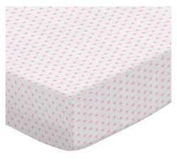 Pink Stars Jersey Knit
