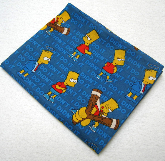 Bart Simpson Cotton Baby Pillow Case