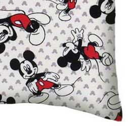 Twin Pillow Case - Mickey Mouse