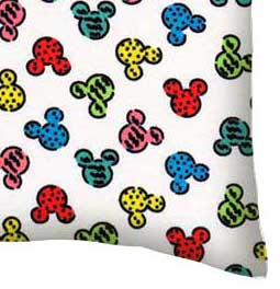 Twin Pillow Case - Mickey Mouse Galore