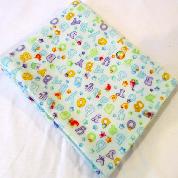 Baby Boy Flannel Baby Pillow Case