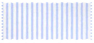 Fabric Shop - Blue Pinstripe Jersey Knit Fabric - Yard - 100% Cotton Jersey Knit - Soft Prints Fabric Shop