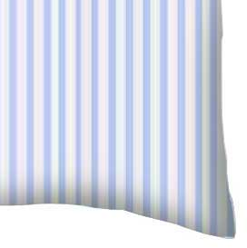 Baby Pillow Case - Blue Stripes Jersey Knit