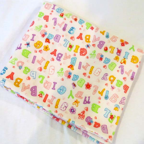 Baby Girl Flannel Baby Pillow Case
