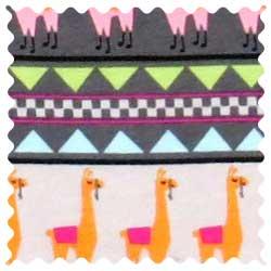Baby Llamas Fabric