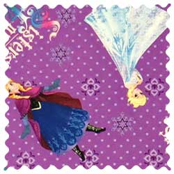 Frozen Sisters Forever Fabric
