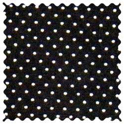 Pindots Black Fabric