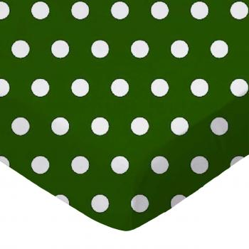 Polka Dots Hunter Green