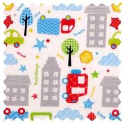 City Cars Fabric