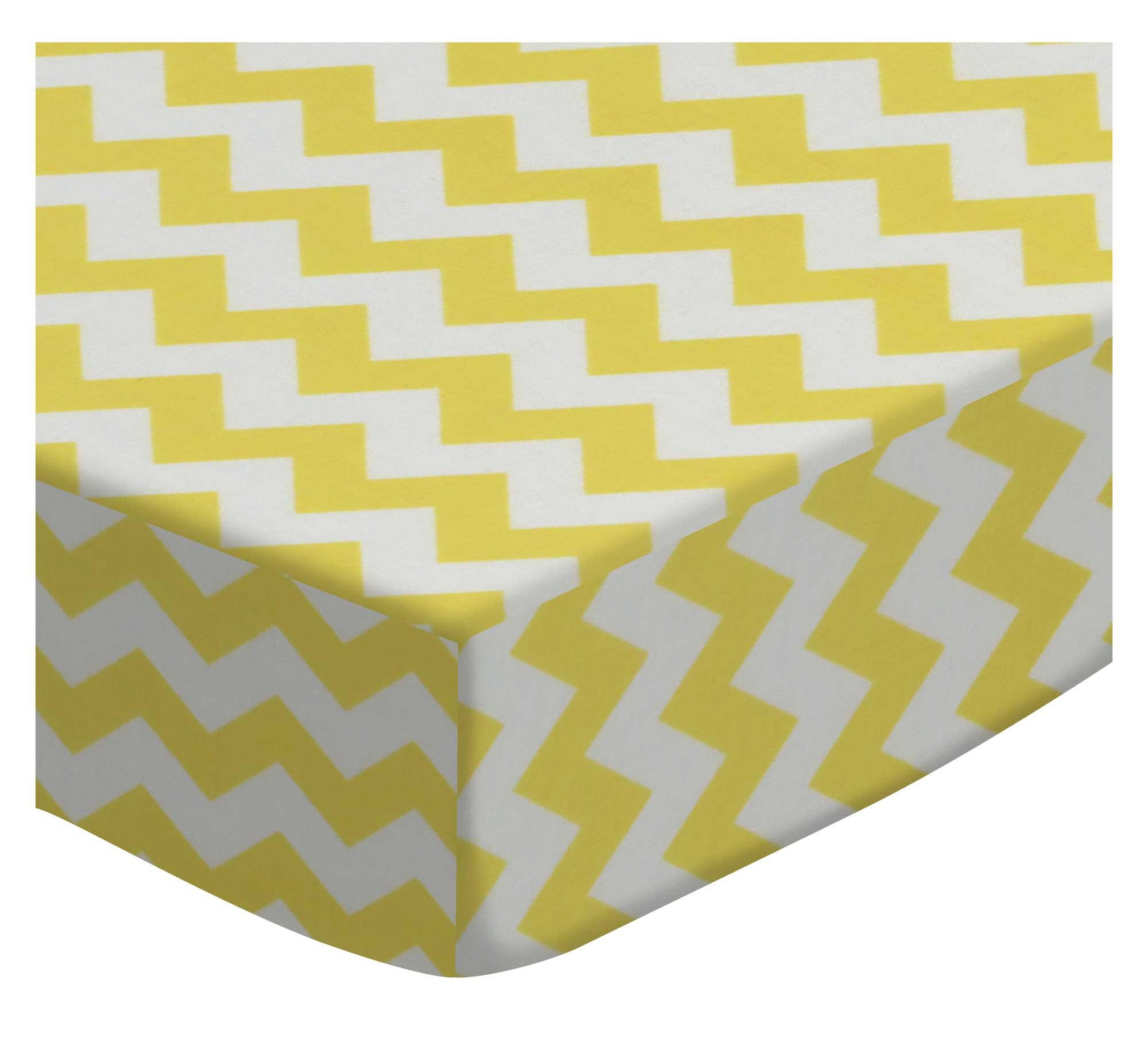 Yellow Chevron Zigzag