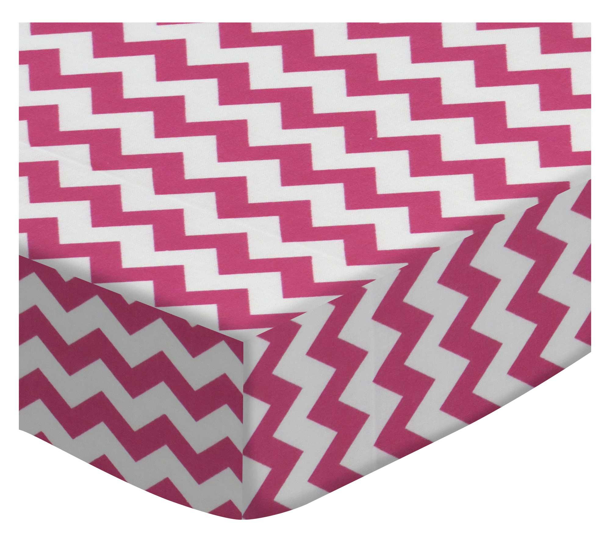 Hot Pink Chevron Zigzag