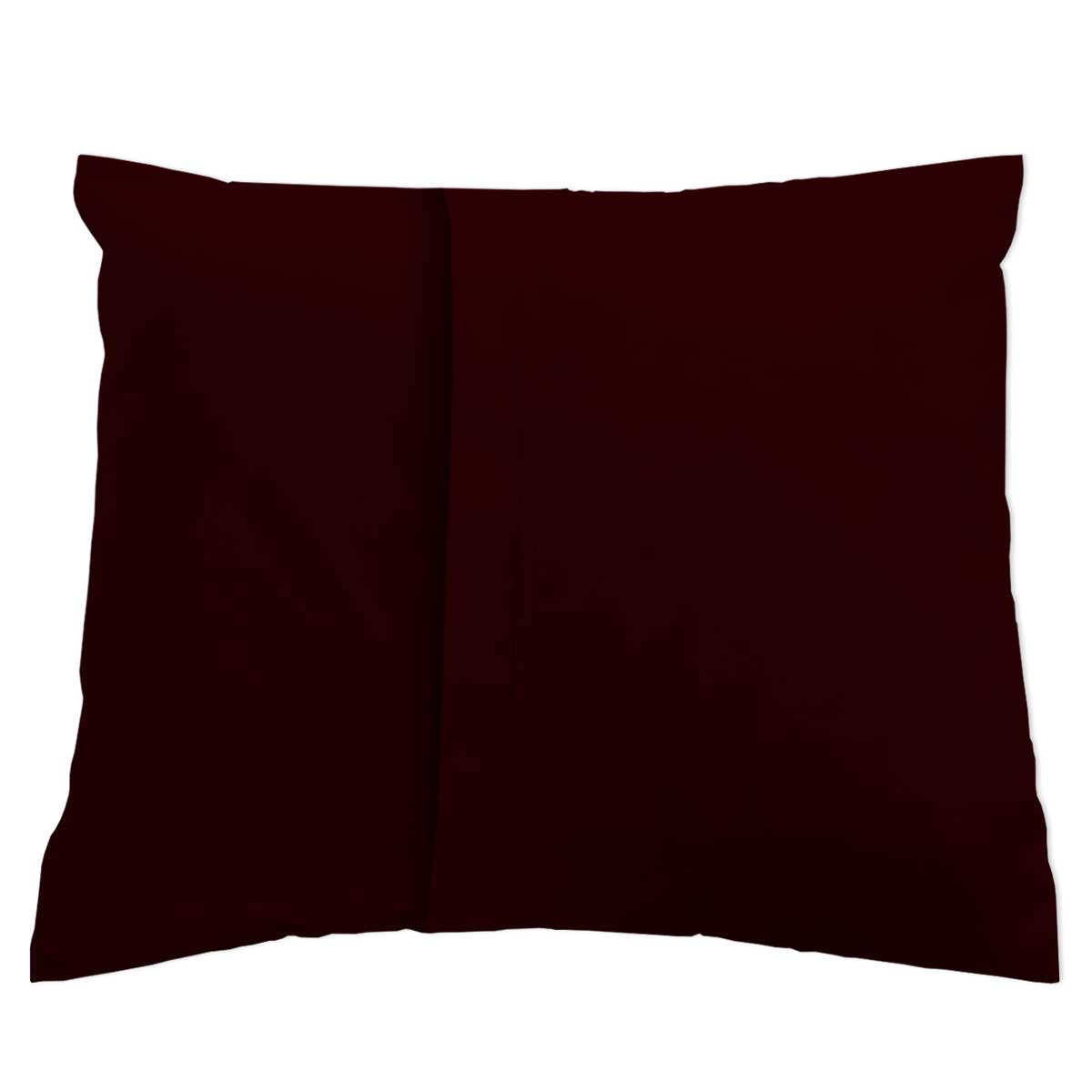 Baby Pillow Case Solid Brown Jersey Knit Baby Pillow