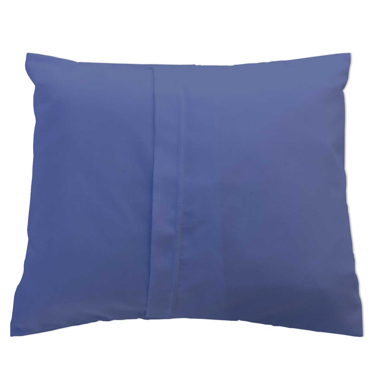 Flannel Pillow Case Denim Blue Baby Pillow Cases