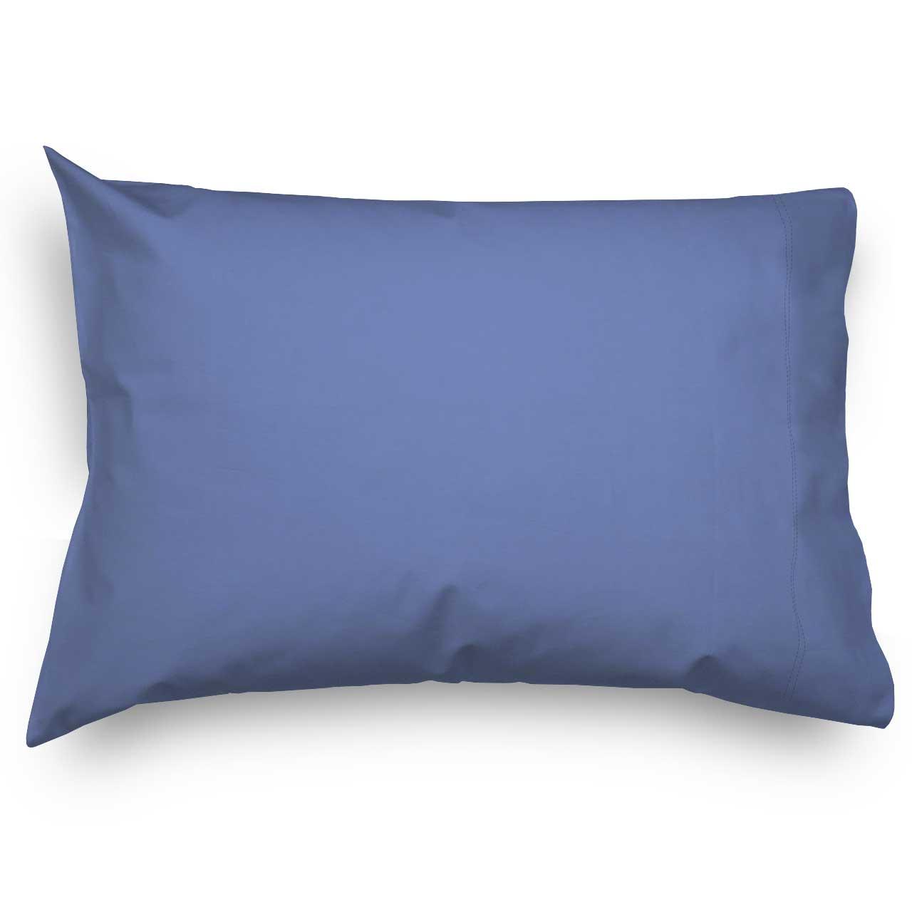 Flannel Pillow Case Denim Blue Twin Pillow Cases