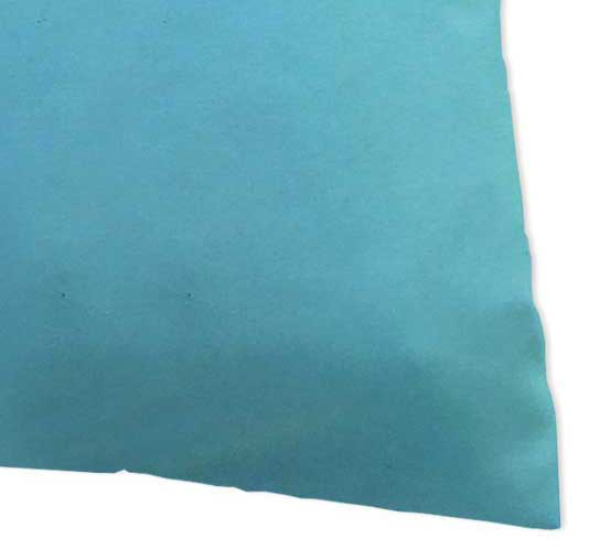 Baby Pillow Case - Solid Aqua Jersey Knit