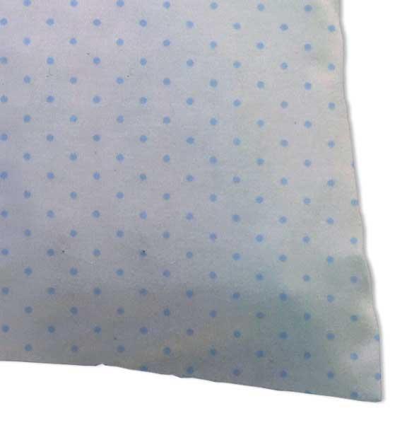 Blue Pindot Jersey Knit Oval Crib Stokke Sleepi Sheets