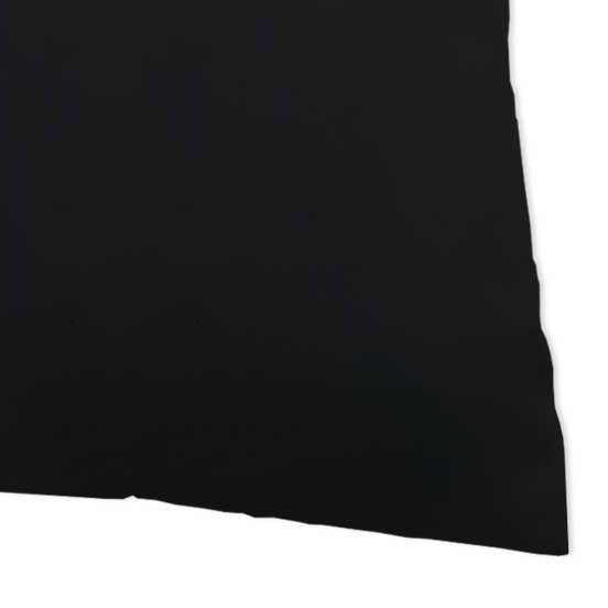 Baby Pillow Case - Solid Black Jersey Knit