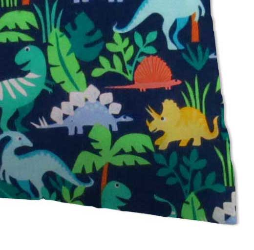 Flannel Pillow Case - Dinosaurs