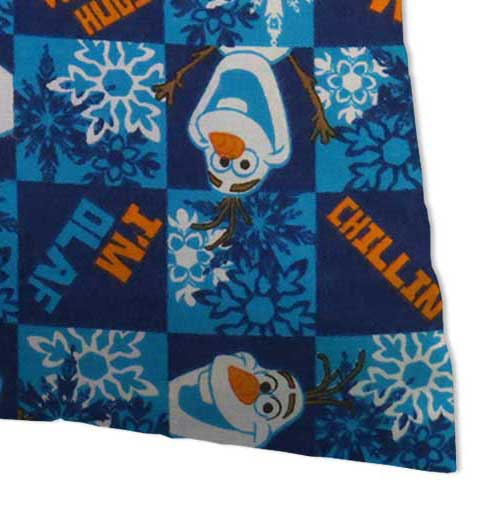 Flannel Pillow Case - Olaf