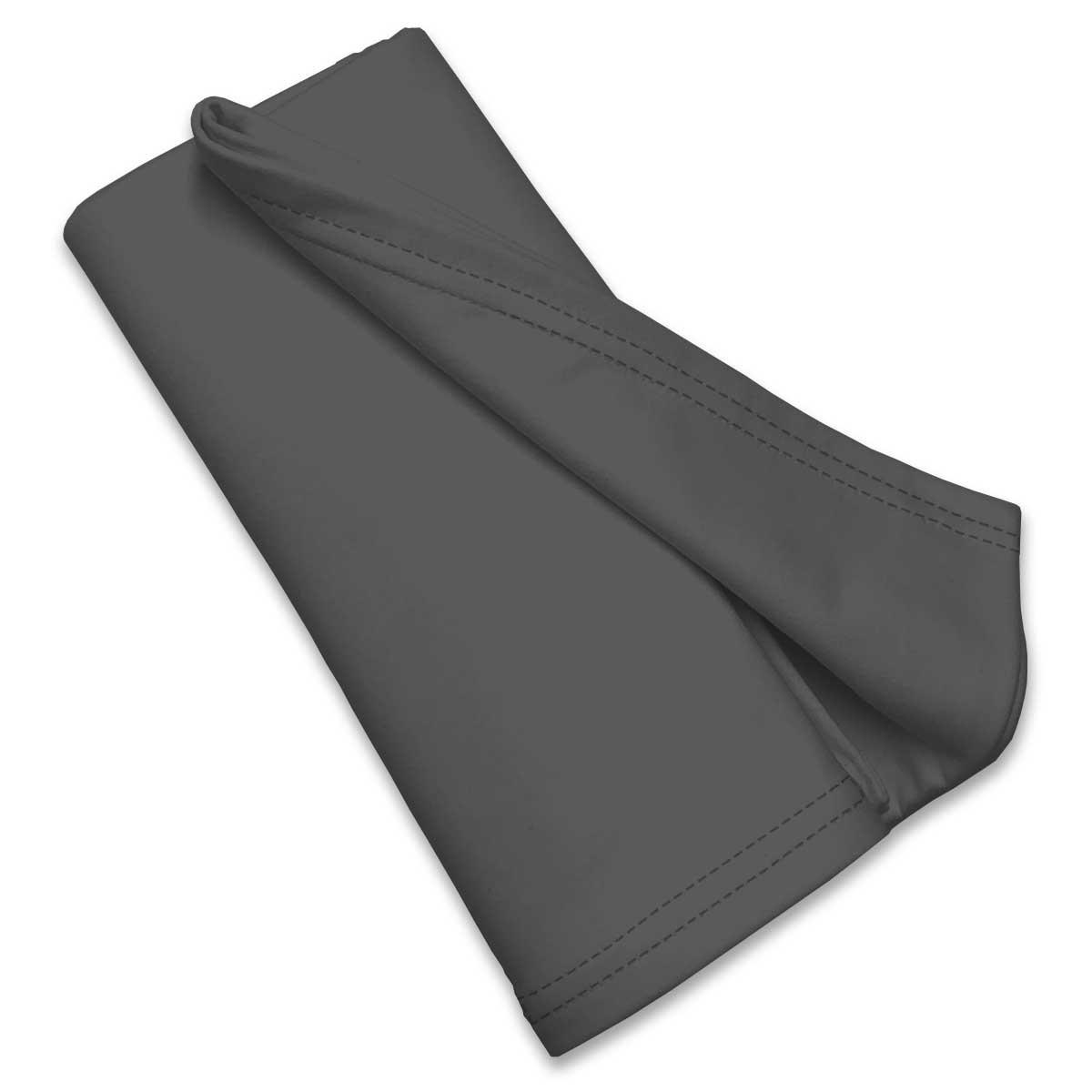 Flannel Dark Grey Portable Mini Crib Sheets Sheetworld