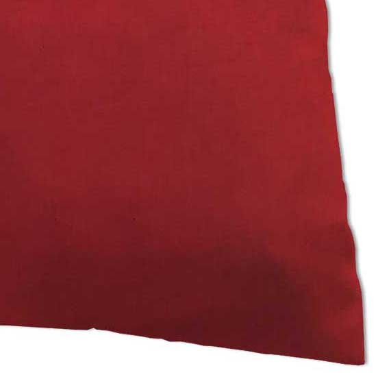 Twin Pillow Case - Solid Red Jersey Knit